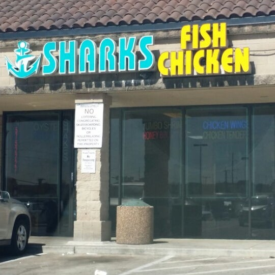 Shark 39 s fish chicken american restaurant in lake highlands for Sharks fish and chicken locations