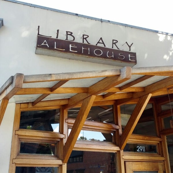 Photo taken at The Library Alehouse by Bobby B. on 2/20/2013