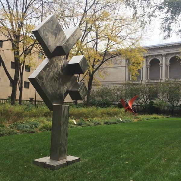 Photo taken at Sculpture Garden - Art Institute of Chicago by hooeyspewer .. on 10/25/2016