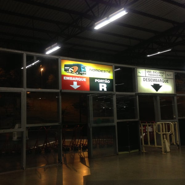 Photo taken at Terminal Rodoviário José Garcia Villar by Andrews R. on 5/13/2013