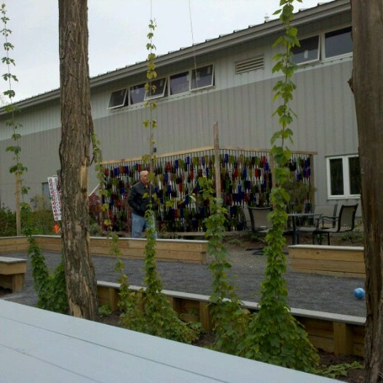 Photo taken at Ithaca Beer Co. Taproom by Kitty G. on 10/13/2012