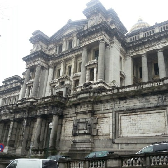 Photo taken at Justitiepaleis / Palais de Justice by Marie B. on 11/24/2012