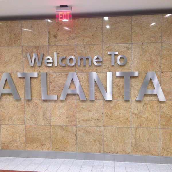 Photo taken at Hartsfield-Jackson Atlanta International Airport (ATL) by Seunghoon K. on 10/9/2013