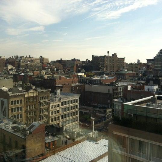 Photo taken at SoHo Grand Hotel by Maria Jose on 10/6/2012
