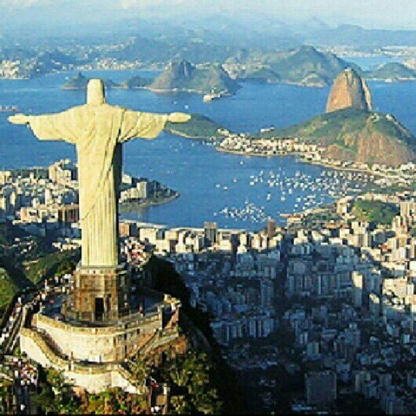 Photo taken at Rio de Janeiro by JORGE P. on 10/18/2012