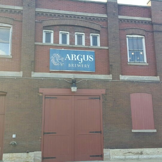 Photo taken at Argus Brewery by Rich F. on 1/16/2016