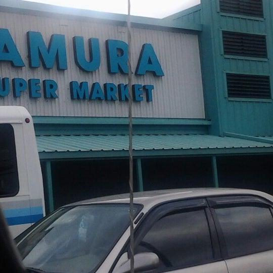 Photo taken at Tamura Super Market by Yolanda d. on 1/23/2013