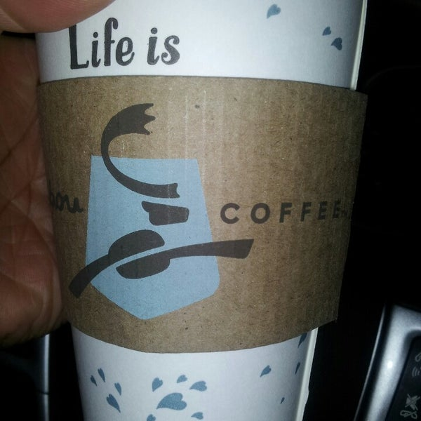Photo taken at Caribou Coffee by Tonia H. on 4/6/2013