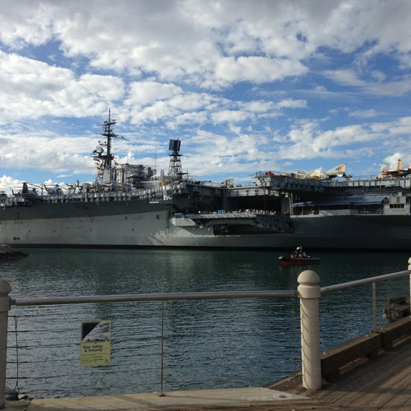 Photo taken at USS Midway Museum by George B. on 3/4/2013