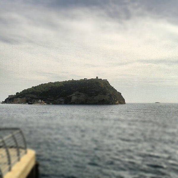 Photo taken at Isola di Nisida - Nisida Island by Daniele S. on 9/25/2012