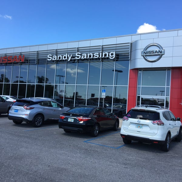 Photo Taken At Sandy Sansing Nissan By Paul O. On 5/24/2018