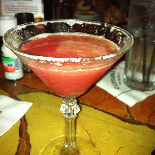 Having a pomegranate martini.   Best in town!!!