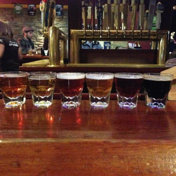 Photo taken at Pocono Brewing Company by Jeremy O. on 2/24/2014