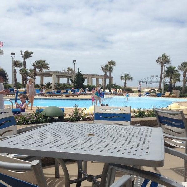 Photo taken at Hilton Pensacola Beach by Leilani H. on 5/31/2013