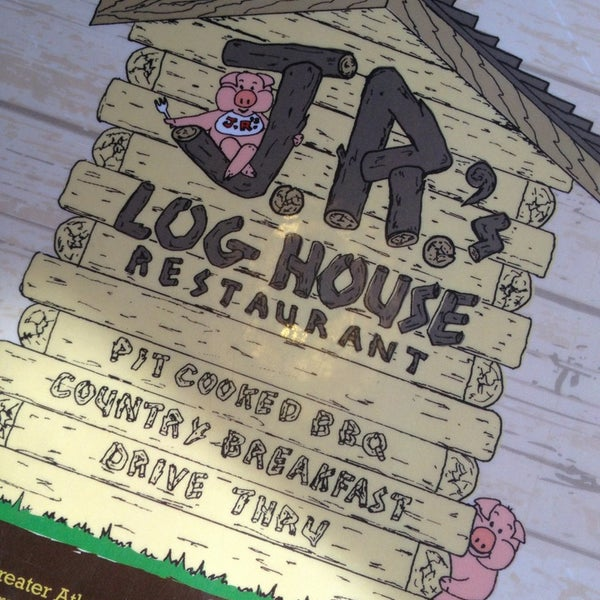 Photo taken at JR's Log House Restaurant by Karen P. on 11/8/2013