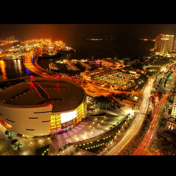Photo taken at American Airlines Arena by Elizabeth on 6/21/2013