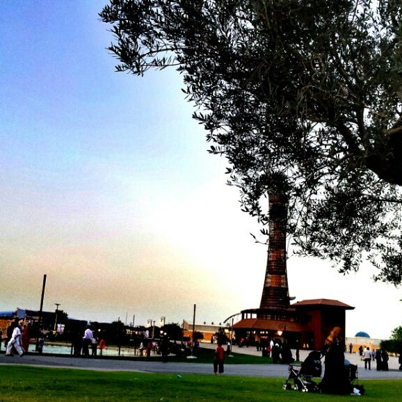 Photo taken at Aspire Park by Sheng M. on 5/3/2013