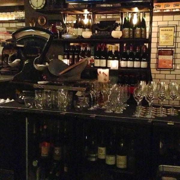 Photo taken at Vanguard Wine Bar by Karen K. on 2/3/2013