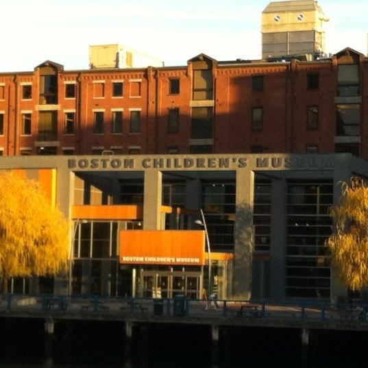 Photo taken at Boston Children's Museum by Guzel G. on 12/3/2012