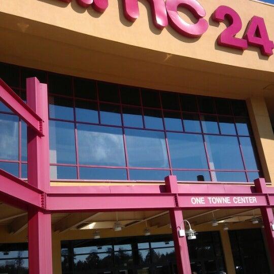 Photo taken at AMC Hampton Towne Centre 24 by David J. on 11/9/2012