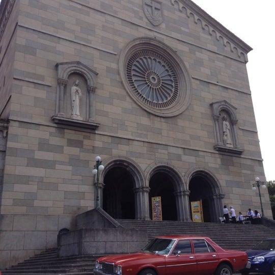 Photo taken at Iglesia Nuestra Señora De La Chiquinquira by Hector C. on 9/30/2012