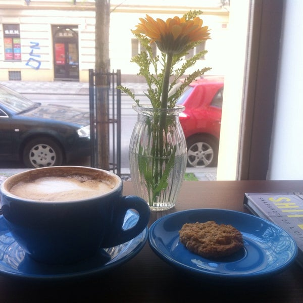 Photo taken at coffee room. by Eliška T. on 4/24/2014