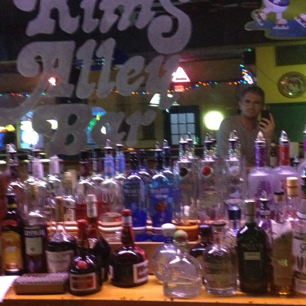 Photo taken at Kim's Alley Bar by Peter K. on 12/23/2013