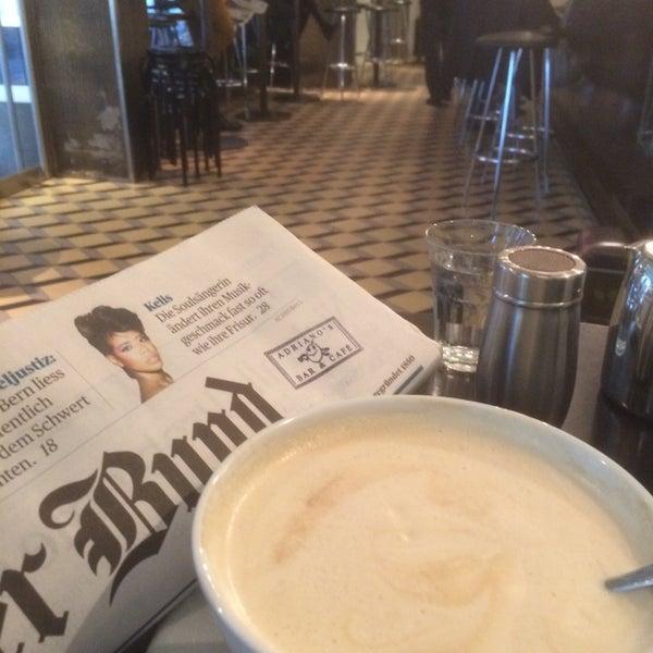 Foto scattata a Adriano's Bar & Café da Rolf A. il 4/23/2014