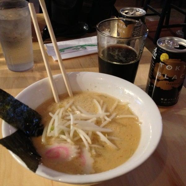 Photo taken at Samurai Noodle by Larissa on 12/23/2012