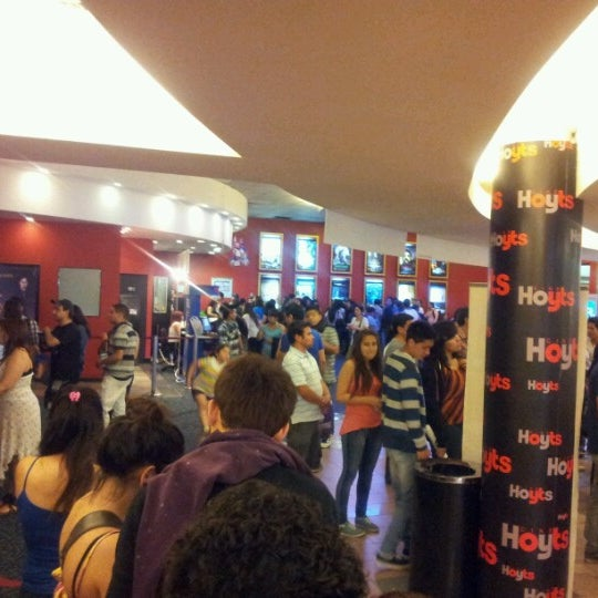 Photo taken at Cine Hoyts by Roberto G. on 11/17/2012