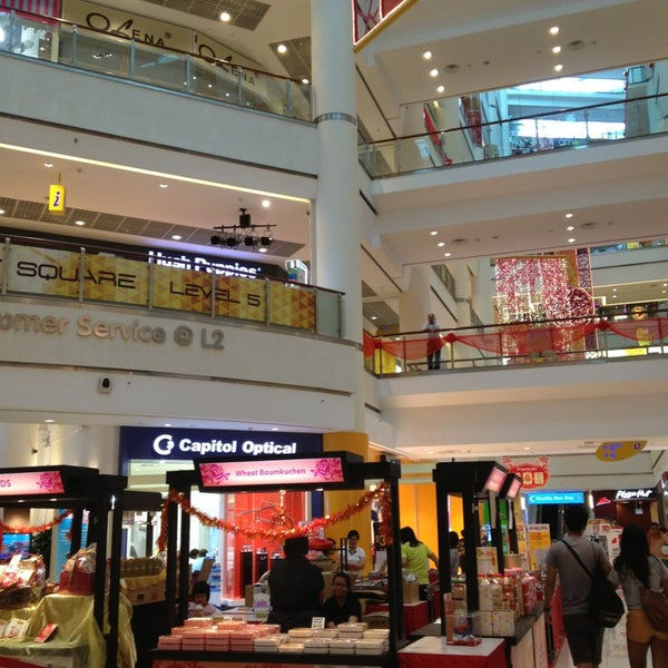Photo taken at City Square Mall by Natalie T. on 2/5/2013
