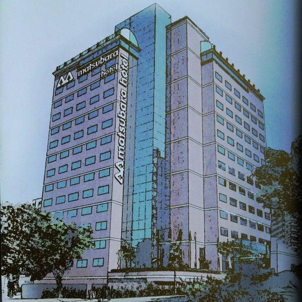 Foto tirada no(a) Matsubara Hotel por Daniel Costa d. em 5/14/2013