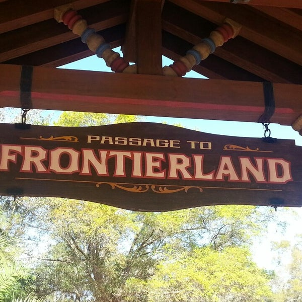 Photo taken at Frontierland by Jerry S. on 3/4/2013
