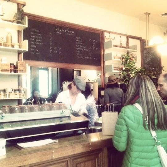 Photo taken at Stumptown Coffee Roasters by Kate on 1/12/2013