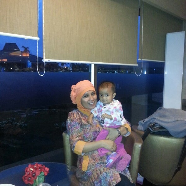 Photo taken at Citibank Lounge by Ina N. on 4/2/2013