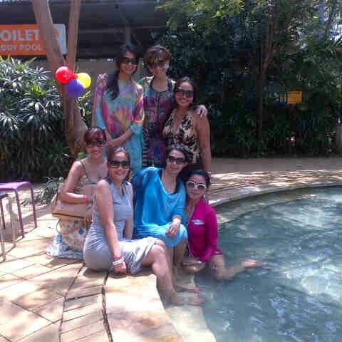 Photo taken at Waterbom Jakarta by Ricca on 9/16/2012