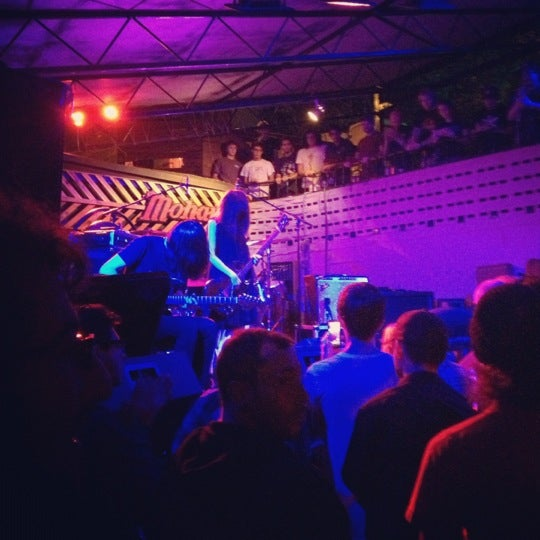 Photo taken at The Mohawk by Anna D. on 10/14/2012