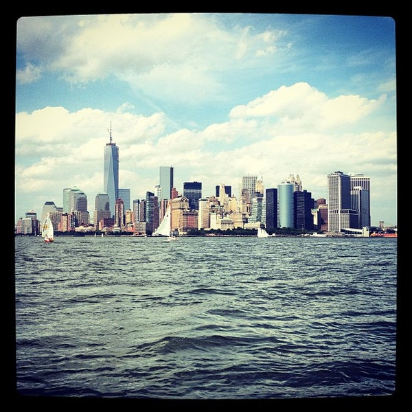 Photo taken at New York Harbor by Bobby Berk on 6/9/2013