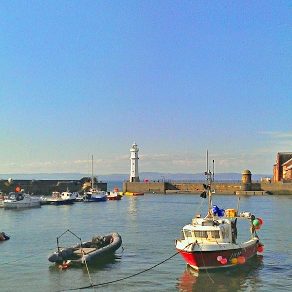 Photo taken at Newhaven Harbour by HaxSyn on 4/23/2015