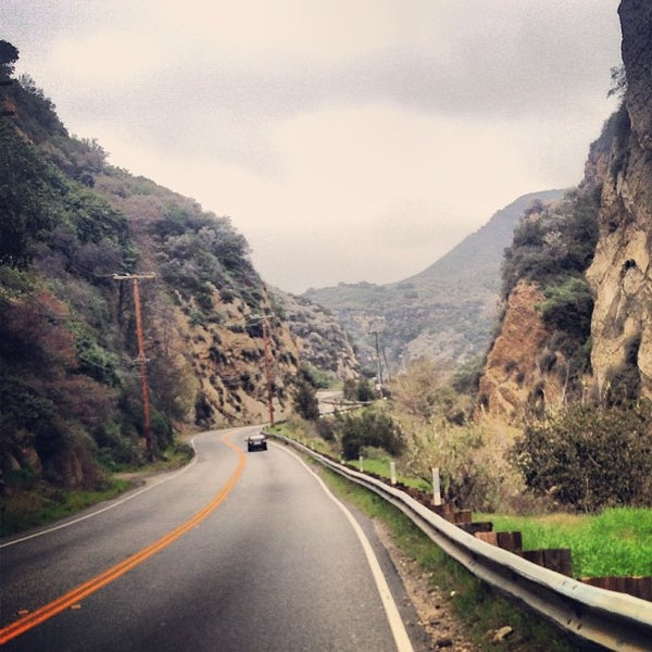 Drive From Woodland Park Co To: Topanga Canyon