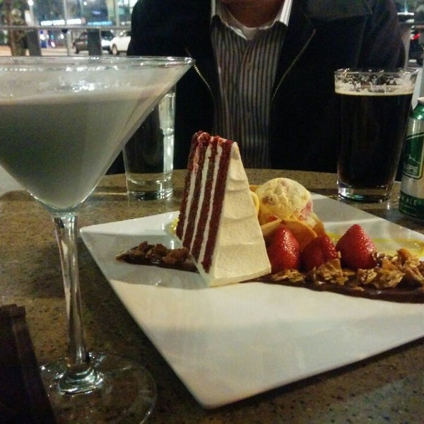 Photo taken at Crave Dessert Bar & Lounge by Mark W. on 5/3/2014