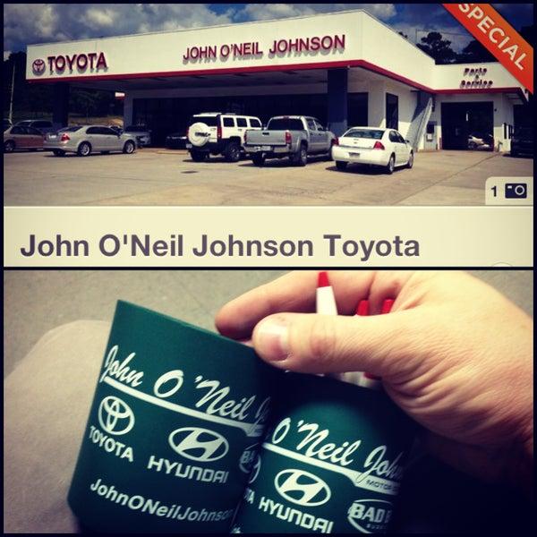 Photo Taken At John Ou0026#39;Neil Johnson Toyota By Daniel E. On