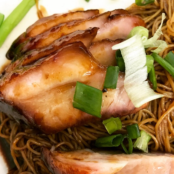 The charsiew noodles were pretty good - nice and succulent pork belly