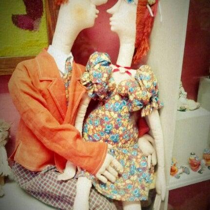 Снимок сделан в Музей кукол пользователем Анастасия Л. 11/24/2012