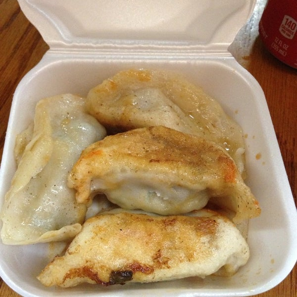 Photo taken at Vanessa's Dumpling House by George C. on 5/28/2013