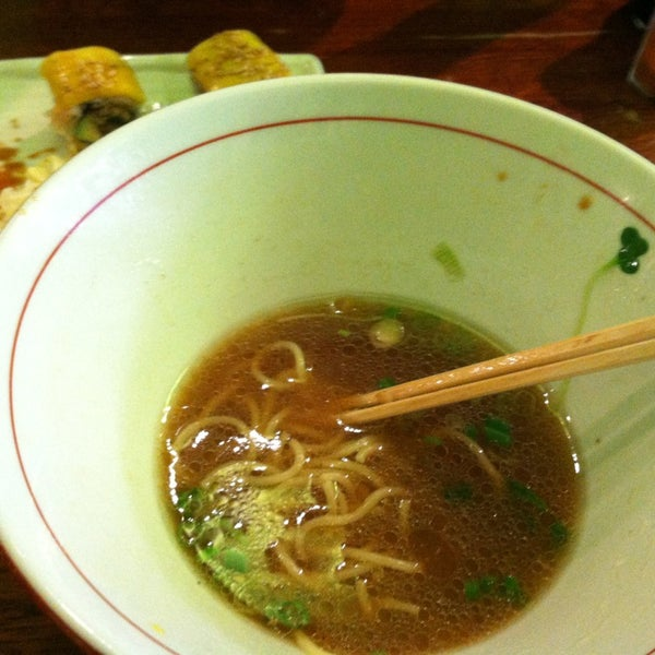 Photo taken at Noodle Cafe Zen by Jeffrey on 12/19/2012