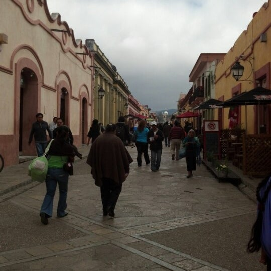 Photo taken at Andador Real de Guadalupe by Betty J. on 1/3/2013