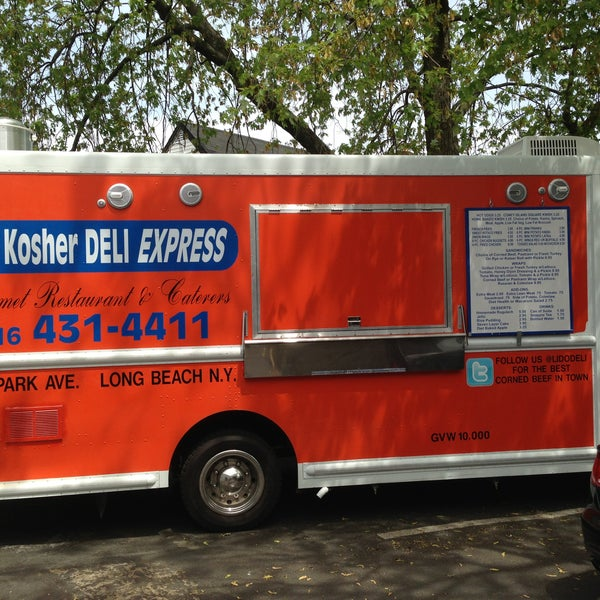 Hey ALL!! Tomorrow we will be launching our food truck, LIDO KOSHER DELI EXPRESS, at Riverside Beach in Long Beach. We will be there all summer so come support us and the city! See you this summer!!!