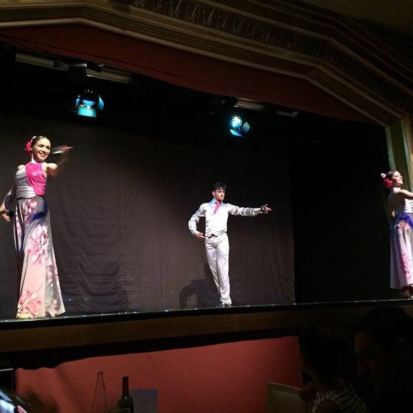 Photo taken at Palacio del Flamenco by Ekrem C. on 5/26/2017