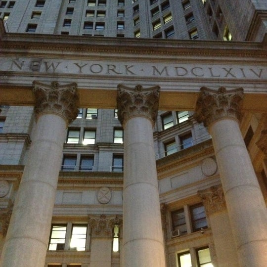 Photo taken at NYC Municipal Building by Mónica C. on 11/23/2012